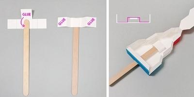 Как сделать простой автомат с мороженым из гофрированные картона своими руками!