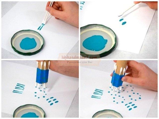 Как сделать классные дротики из ватных палочек своими руками!