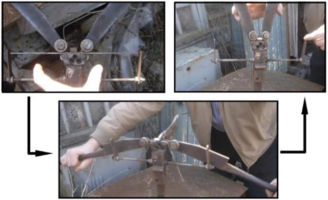 Гибочное приспособление для изготовления цепей своими руками