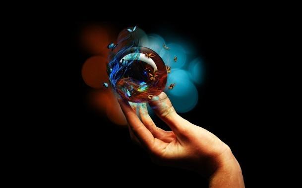 Волшебный шарик своими руками