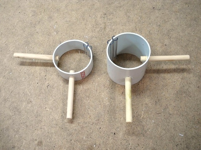 Зажимы для труб своими руками