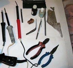 Изготовление паяльника для пластика своими руками