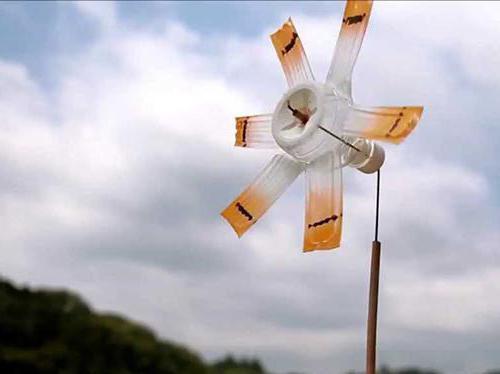 Декоративный ветряк своими руками