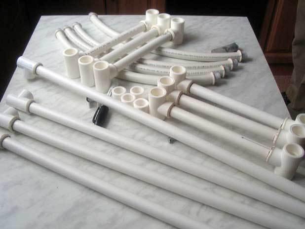 Изготовление снегоступов своими руками (из ПВХ)