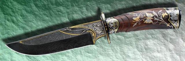 Маленький нож «Клык» своими руками