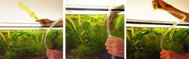 Система слива воды из аквариума своими руками