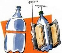 Контейнер-термос для двухлитровых бутылок своими руками