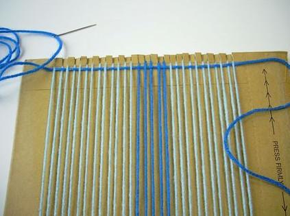 Небольшой ткацкий станок своими руками