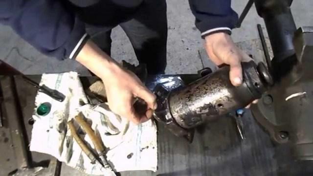 Моторизированный гидравлический пресс своими руками