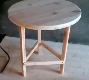 Делаем круглый стол своими руками