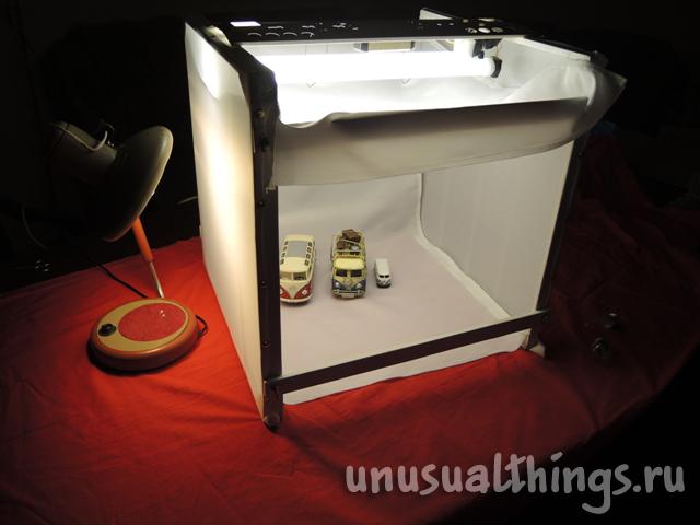 Изготовление лайтбокса для предметной съемки своими руками
