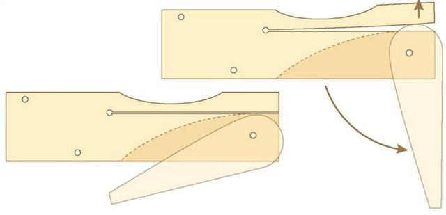 Деревянные кулачковые струбцины для верстака своими руками
