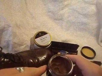 Как сделать крем для обуви своими руками