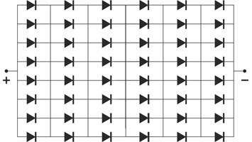 Светодиодная матрица своими руками