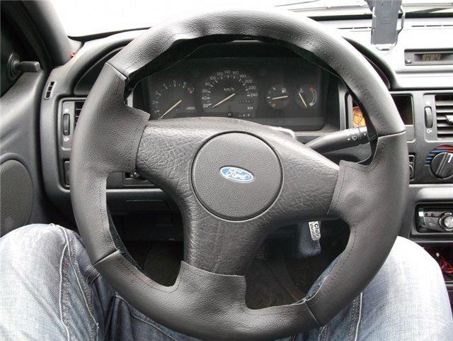 Правильный руль своими руками