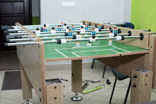 Футбольный столик своими руками