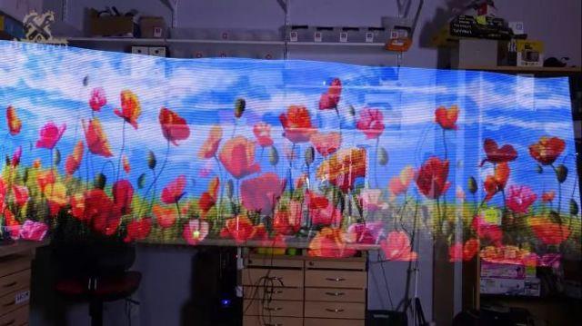 Голограмма своими руками. Рисуем светом