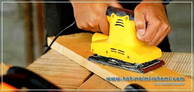Шлифовальный блок своими руками, быстрое изготовление