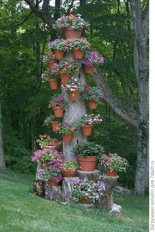Подвесные грядки из ПВХ сад своими руками