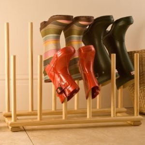 Сушилка для обуви из ПВХ трубы своими руками