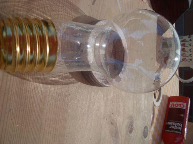 Мерцающая лампа на батарейках в стиле стимпанк своими руками