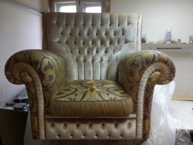 Современное кресло для отдыха своими руками