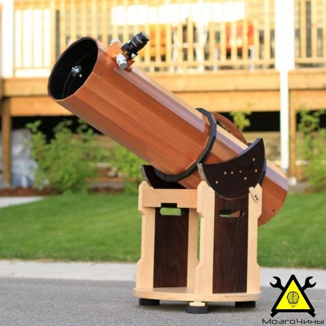 Телескоп за пять минут своими руками