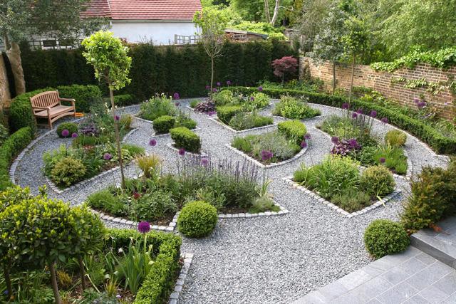 Гравийный сад – своими руками
