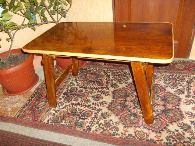 Кофейный столик с подъемной столешницей своими руками