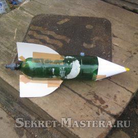 Делаем гидро-ракету своими руками