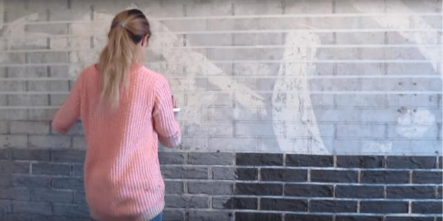 Имитация кирпича – своими руками