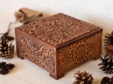 Кулон - шкатулка из дерева своими руками