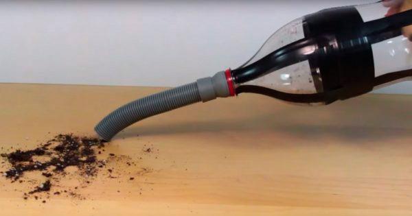 Портативный мини пылесос своими руками