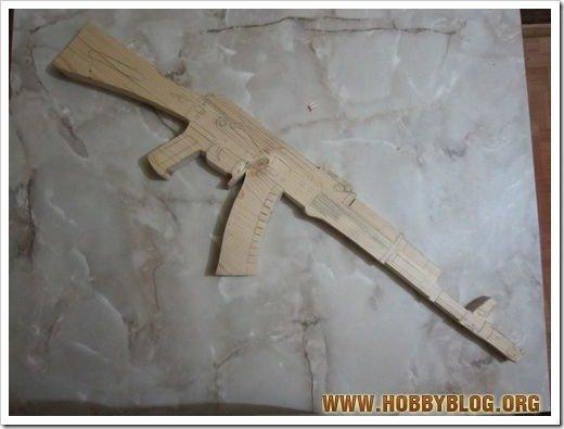 Пневматическая игрушка-винтовка своими руками