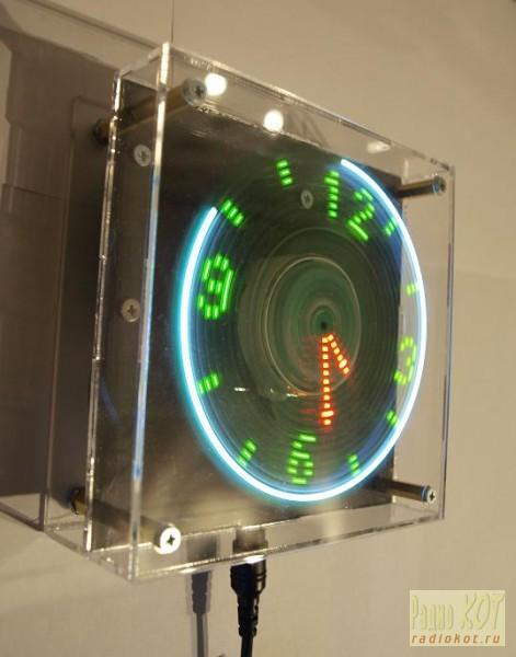 Часы с датчиком положения и температуры своими руками