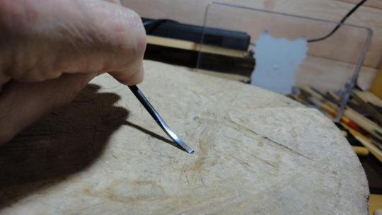 Развертка из напильника своими руками
