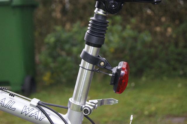 Маячок для велосипеда своими руками