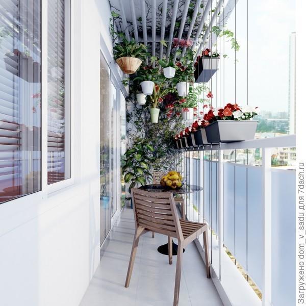 Мой новый балкон своими руками