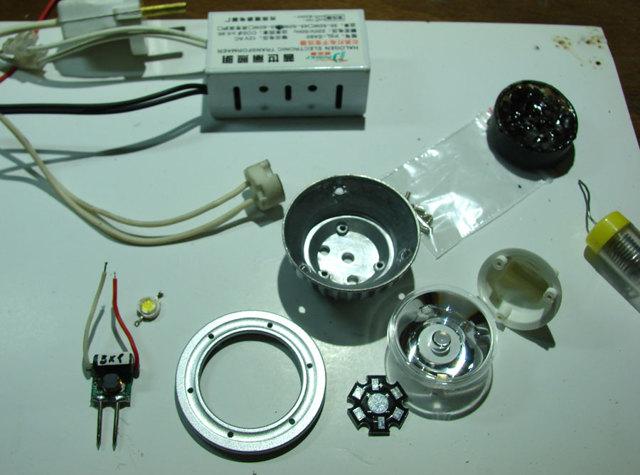 Светодиодная лампа своими руками, kit-набор