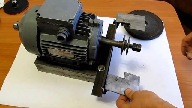 Заточной станок с двигателем от стиральной машинки своими руками