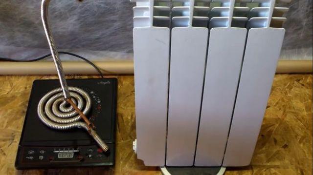 Индукционное отопление своими руками
