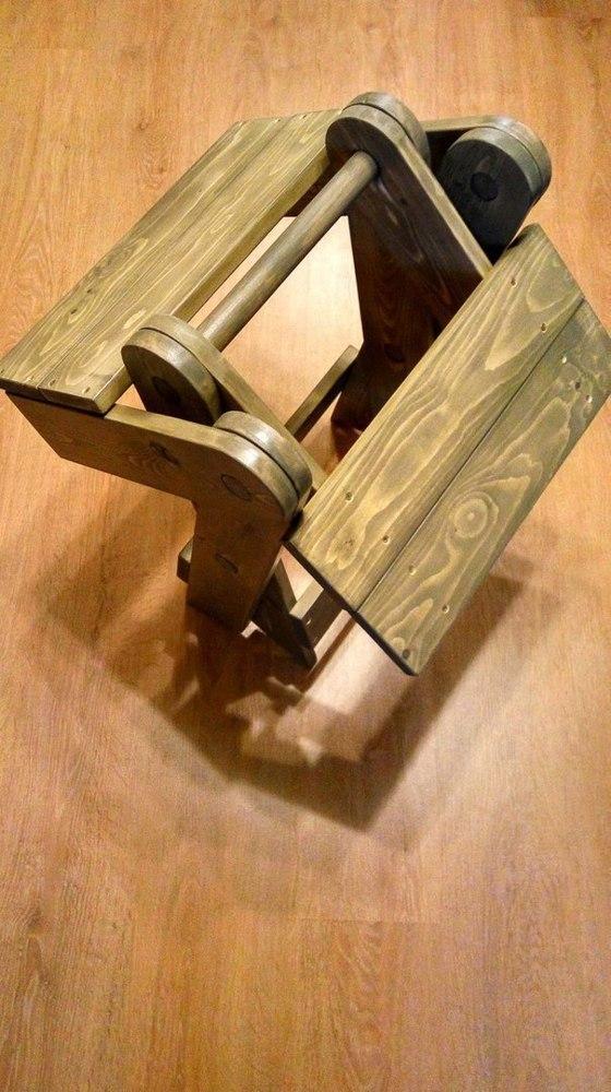Миниатюрный раскладной стул своими руками