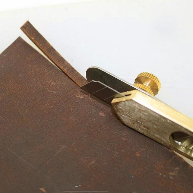 Нож для работы с кожей своими руками