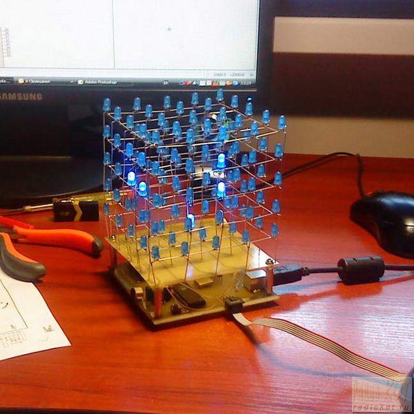 Механический 3d куб своими руками