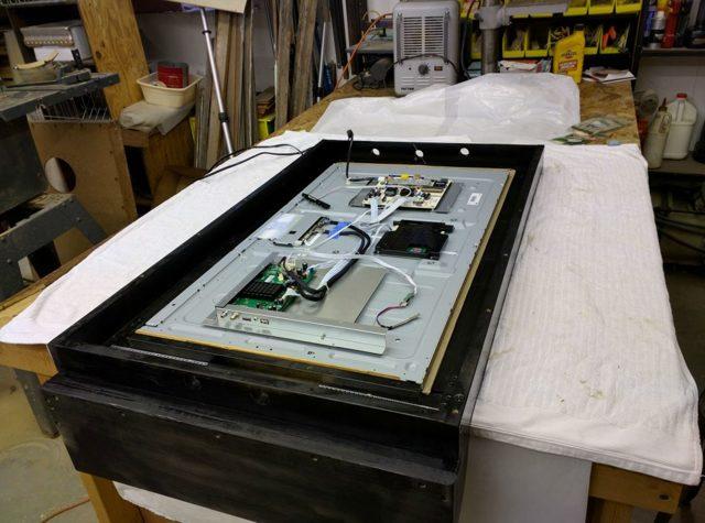 Умное зеркало с микрокомпьютером raspberry pi 4 своими руками