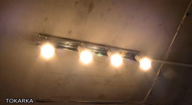 Слесарный светильник своими руками