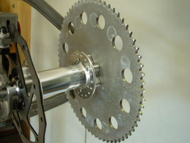 Велосипед на воздушной тяге своими руками