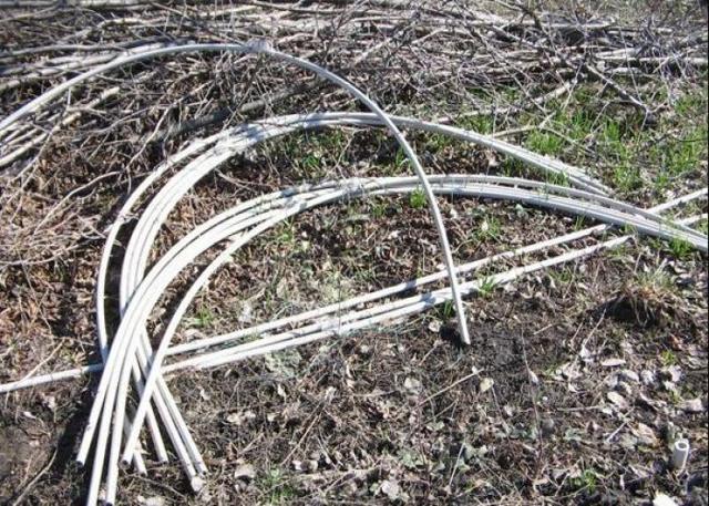 Парник из пластиковых труб своими руками