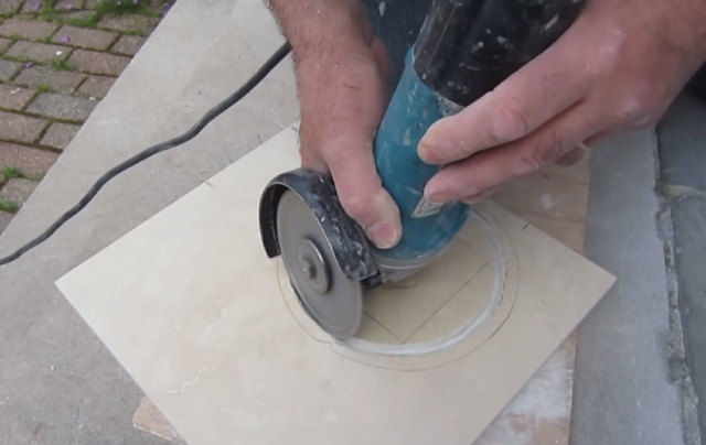 Керамический нож из половой плитки своими руками