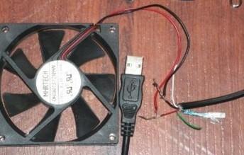Делаем usb вентилятор в домашних условиях своими руками
